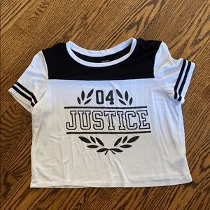Justice Girls Cropped Length Top